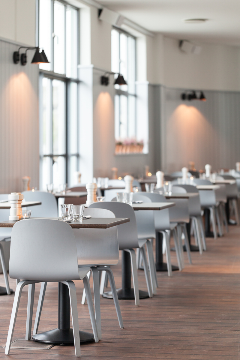 VISU Chairs and PLUS Grinders at Almanak – The Standard – Copenhagen